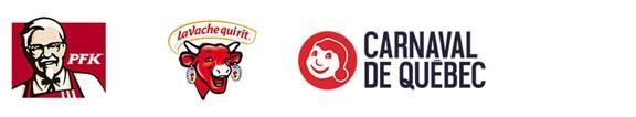 KFC, Red farm, Caravel logo